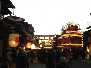 Hida-Takayama Autumn Matsuri at Dusk - Takayama Autumn Festival