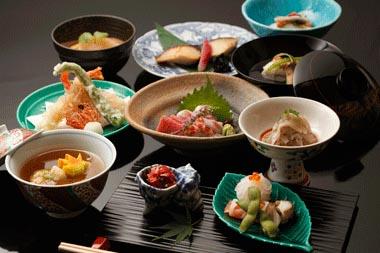 Multicourse Kaiseki Meal