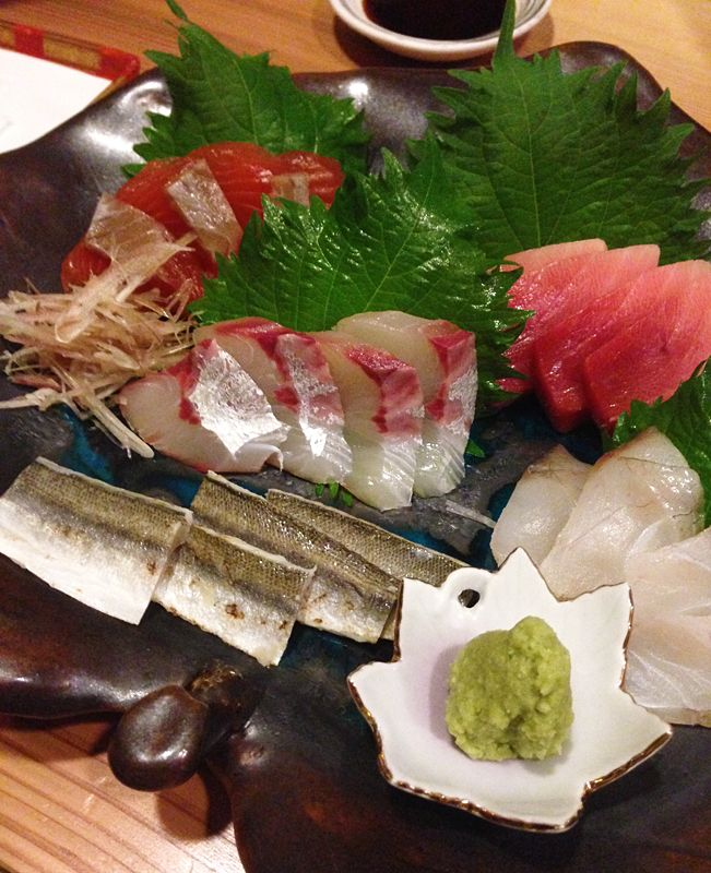 Seafood and Sashimi