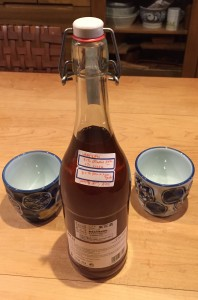 "Homemade Umeshu with ""secret"" recipe"