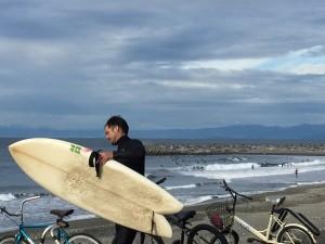 Golden Week Surfing - Near Enoshima, Japan