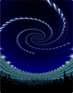 "Envisaged ""Sky Canvas"", the first man-made meteor shower at Tokyo 2020 Olympics"