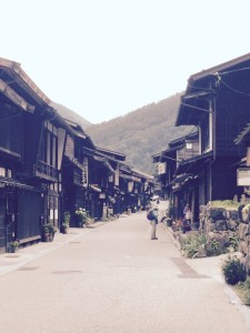 The Nakasendo Trail - Naraijuku Then? It is easy to imagine.