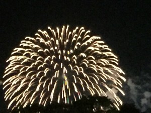 another view of our local Japanese fireworks festival.