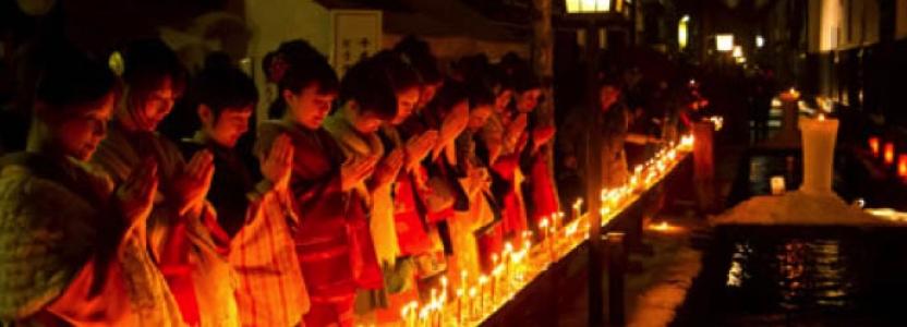 Fun Festivals in Japan – Santera Mairi Matsuri in Hida Takayama