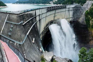Kurobe dam on Japan's Alpine Route