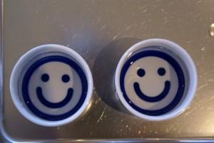 Happy Sake Tasting Cups for Japanese Sake