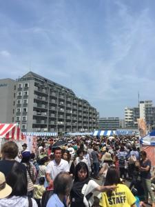 Local Golden Week Festival in Japan, Shonan Coast