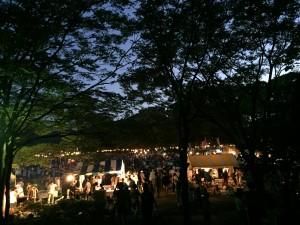 Bon Odori Festival Stalls, Kanazawa during Obon