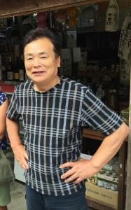 Our Nakasendo Oji-san (Uncle)